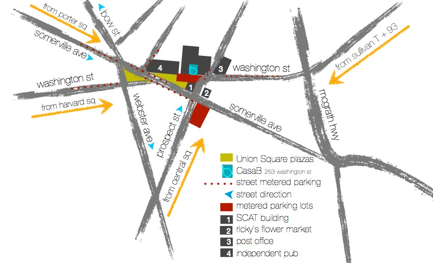 Map of Union Square